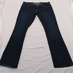 Abercrombie & Fitch Emma Dark Blue Jeans